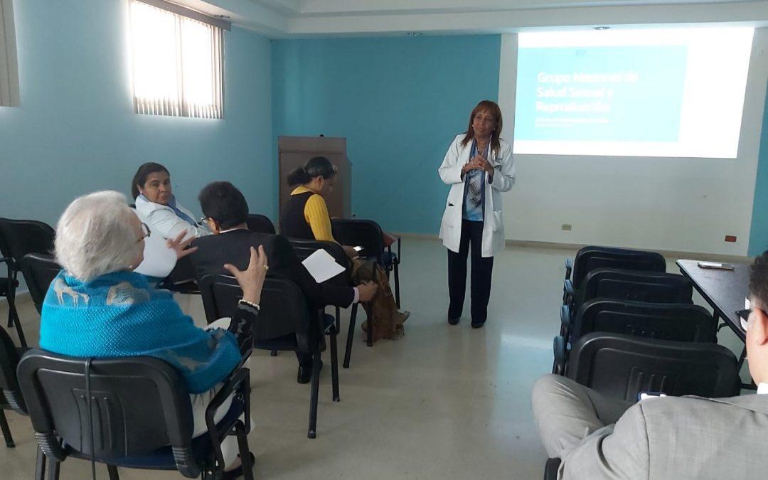 Grupo Nacional de Salud Sexual y Reproductiva planifican acciones 2020