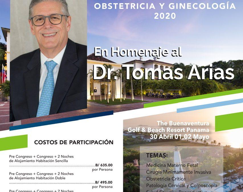 Congreso Nacional de la Sociedad Panameña de Obstetricia y Ginecología 2020 en homenaje al Dr. Tomas Arias